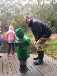 Steve Walker - Frogs and Fungi at Arbury Park Outdoor School